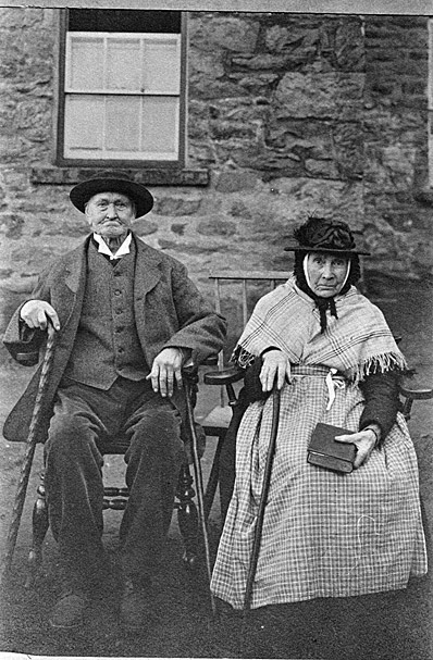 An Old Couple in Bala